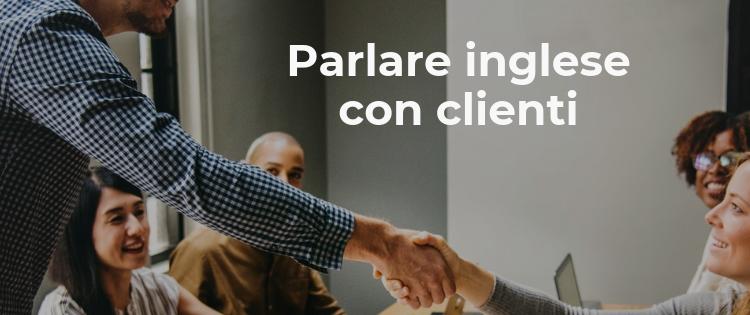 parlare inglese con clienti